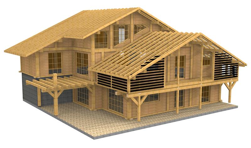 Casse tete en bois solution trouvez le meilleur prix sur for Prix construction maison 150m2